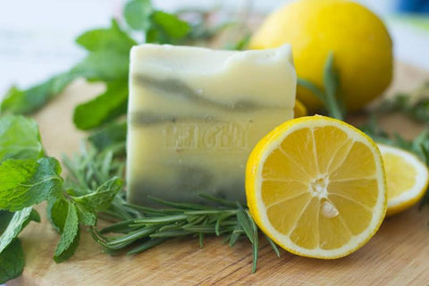 Mini Lemon & Herb Soap Bar - 40g