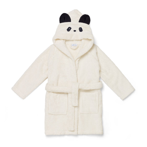 Lily Bathrobe - Panda Cream