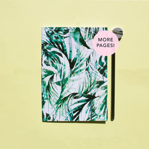 Paradise Palms Thicker A5 Notebook