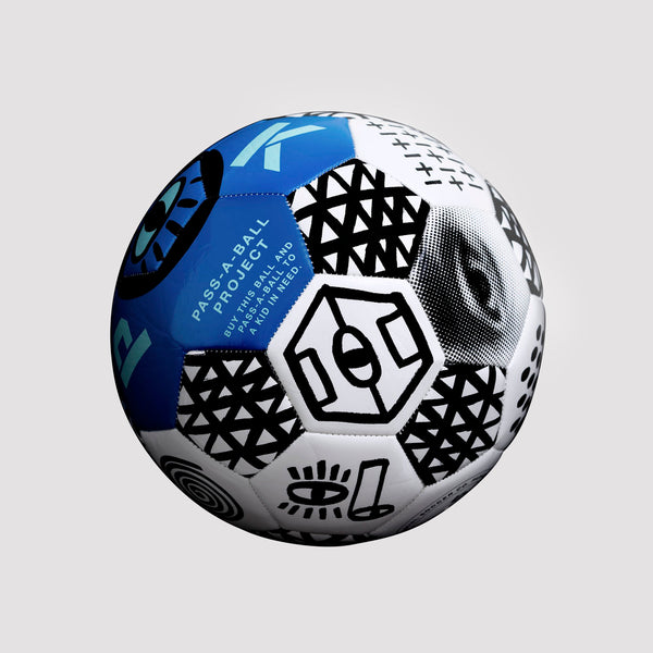 Pass A Ball Football - Ultra Blue