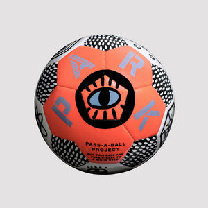 Pass A Ball Football - Neon Orange