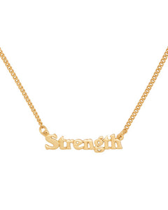 Strength Necklace