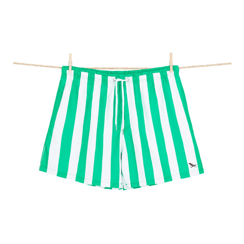 Cancun Green Swim Shorts