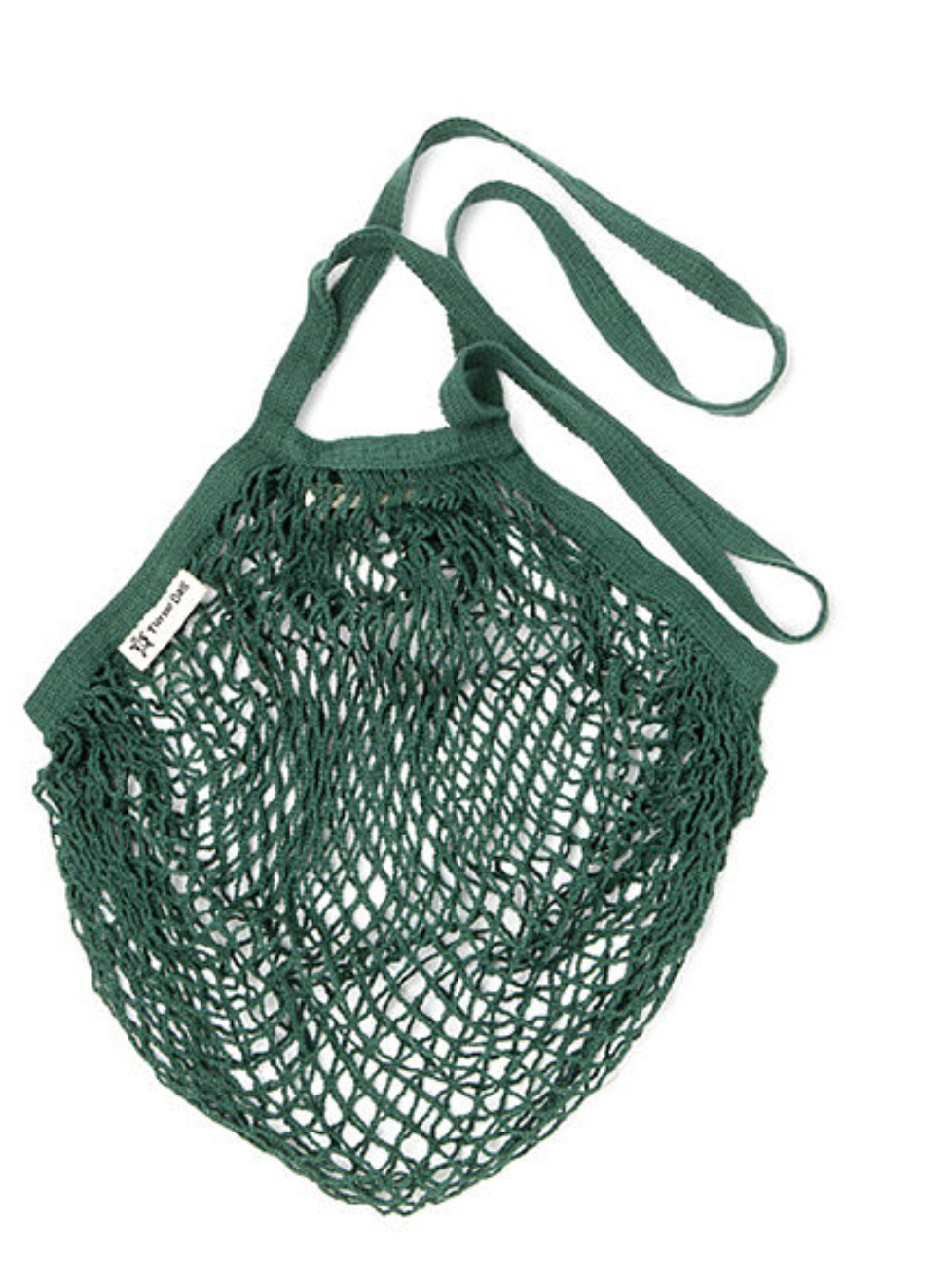 Turtle Bag Long Handled String Bag - Bottle Green