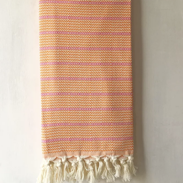 Clementine Cotton Towel