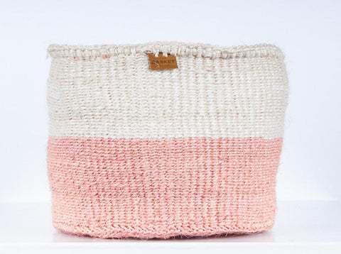 Jioni Pink Colour Block Basket