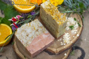 Mini Wildflowers & Oats Soap Bar - 40g