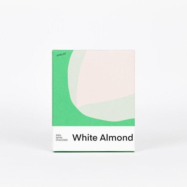 White Almond Chocolate Bar