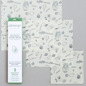 Beeswax Food Wraps - Variety Pack