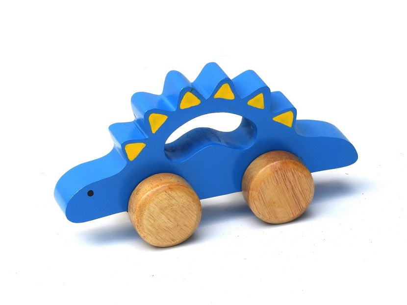Wooden Push Along Dinosaur