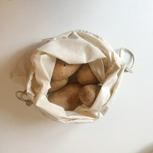 Natural Grocery Storage Bags