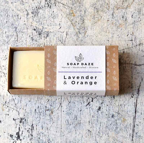 Lavender and Orange Natural Soap
