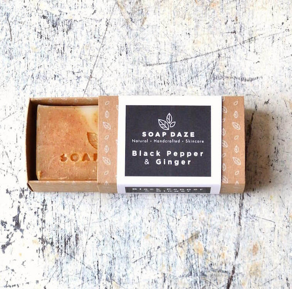 Black Pepper & Ginger Natural Soap