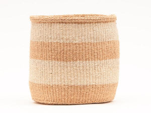 Mseto Natural Stripe Baskets
