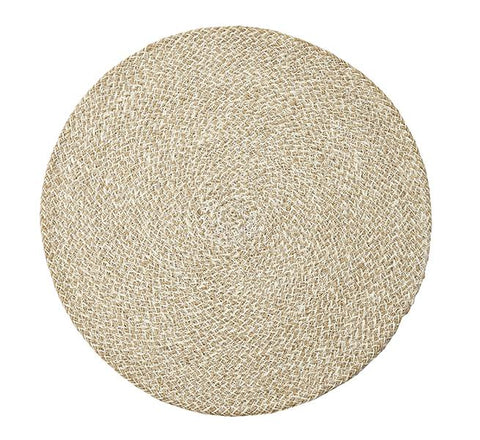 Jute Placemats - Pearl White