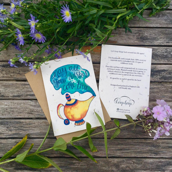 Wishes - Plantable Card