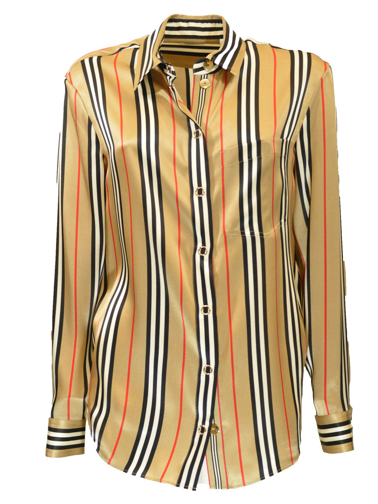 Camicia Burberry righe