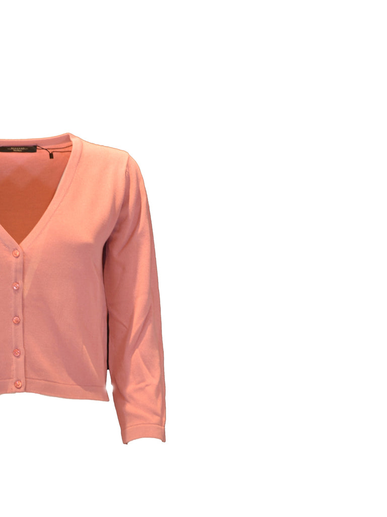 Mini cardigan Weekend MaxMara rosa