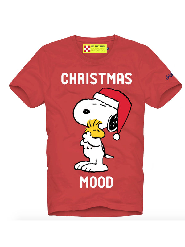 T-shirt manica corta MC2 Saint Barth Xmas Edition Peanuts