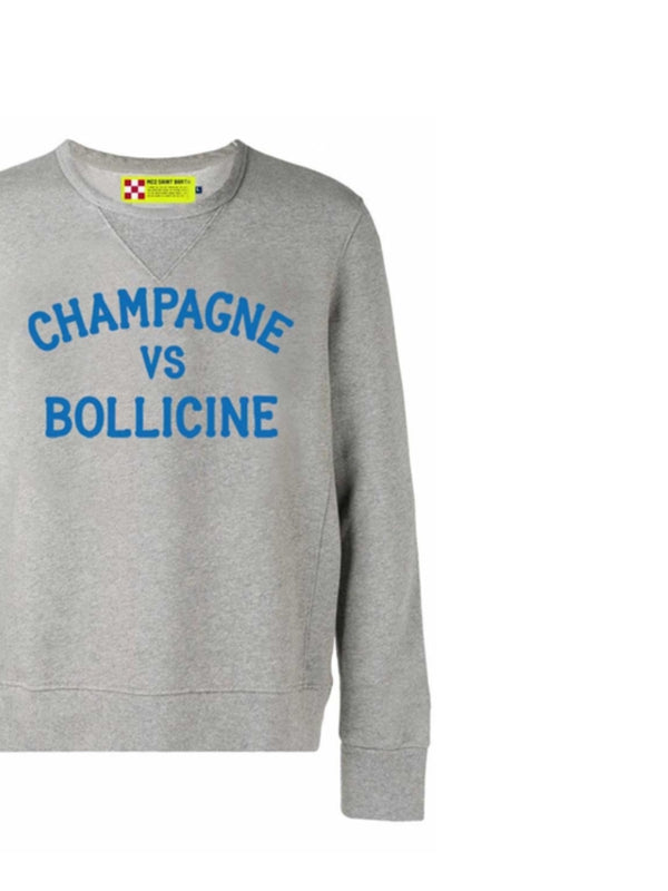 Felpa MC2 Saint Barth Champagne VS Bollicine
