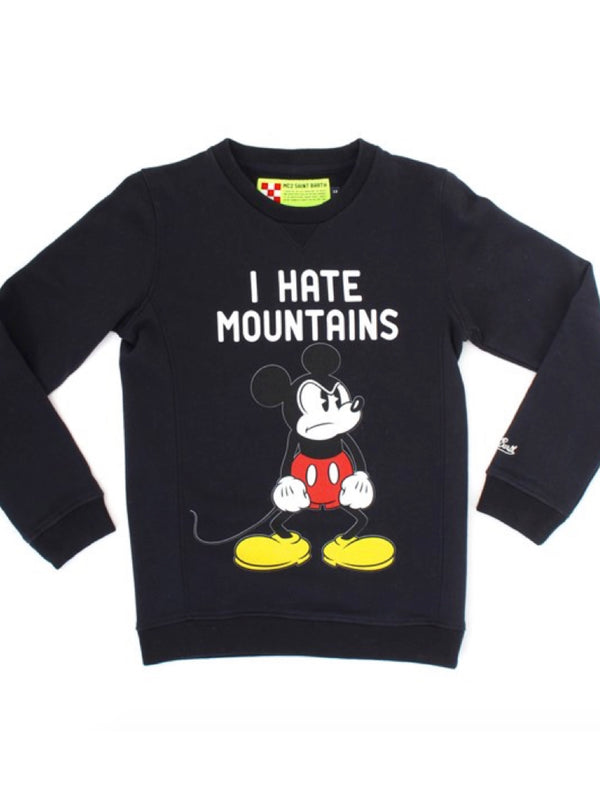 Felpa MC2 Saint Barth Disney I Hate Mountains