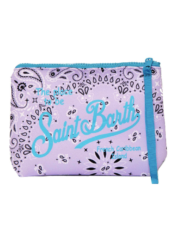Pochette in neoprene MC2 Saint Barth fantasia bandana