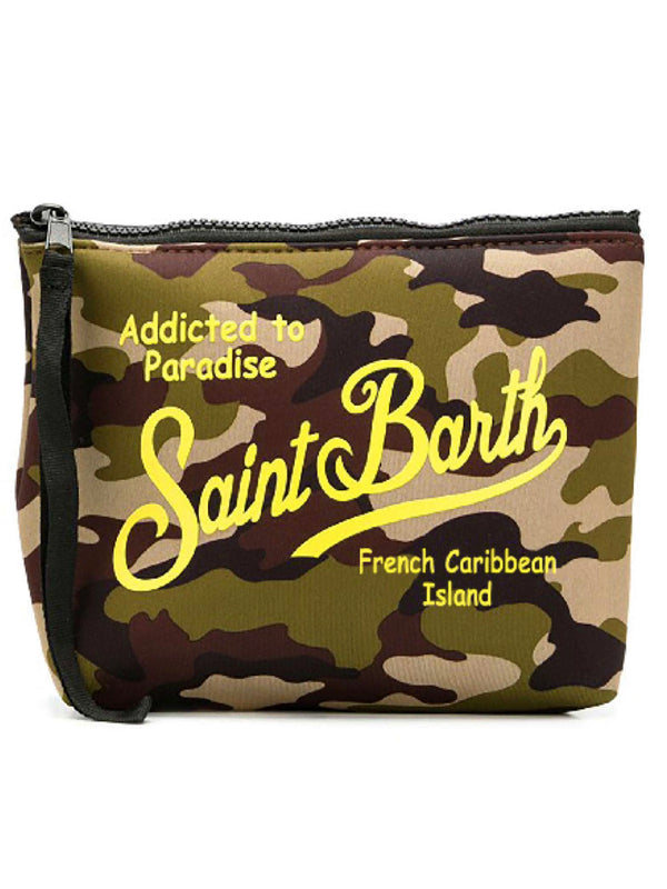 Pochette in neoprene MC2 Saint Barth fantasie varie