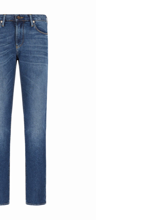 Jeans Emporio Armani J06 slim fit in denim washed