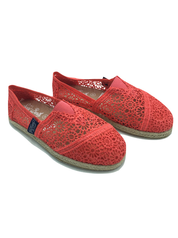 Espadrillas donna MC2 Saint Barth macramè vari colori
