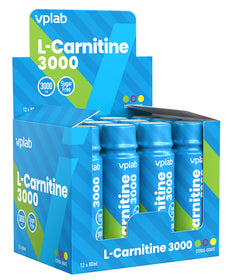 VPLab L-Carnitine 3000 shot 80 ml x 12 gab. (kaste)