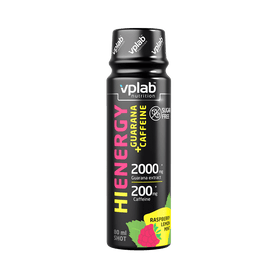 VPLab Hi-Energy Guarana+Caffeine shot 80 ml