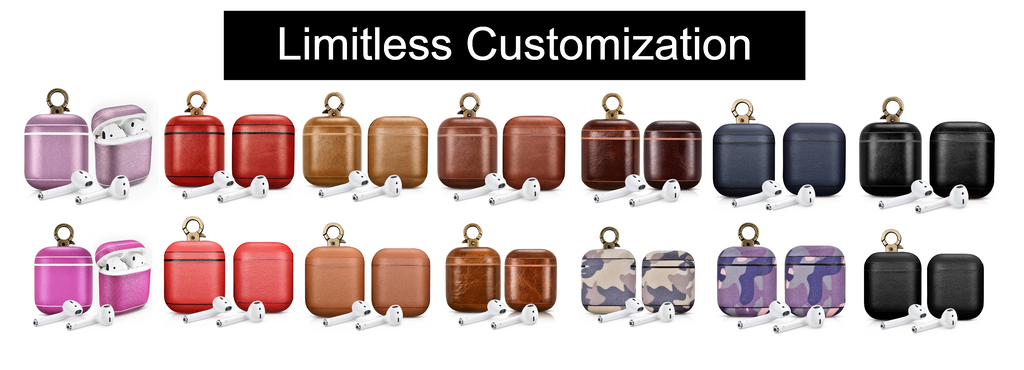 cairpods limitless customization engrave emboss your own logo corporate gifts