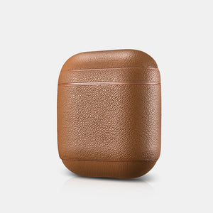 Premium Nappa Series Leather Custom Apple AirPods 1 & 2 Case Handmade Personalization