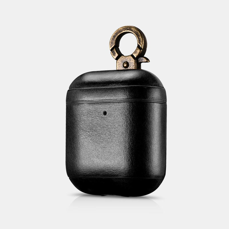 AirPods 2 (LED Visible) Black Custom Case