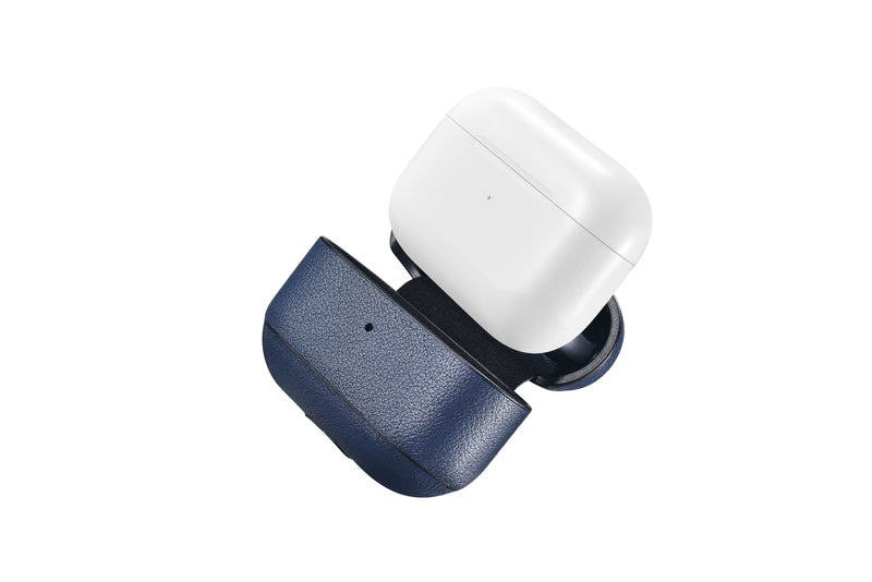 Custom AirPods Pro Vegan Nappa Leather Case | Black Brown Navy Blue