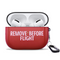 Iconic Red Remove Before Flight Aviation Apple AirPods Pro Case