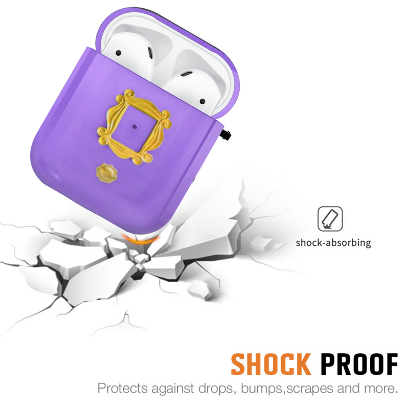 FRIENDS Purple Door AirPods 1 & 2 Case