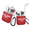 Iconic Red Remove Before Flight Aviation Apple AirPods 1 & 2 Case