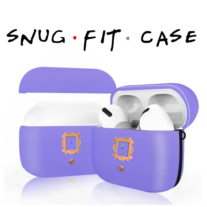 FRIENDS Tv Show Purple Door AirPods Pro Case