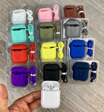 5 in 1 Combo Case and Accessories for Apple AirPods 1 & 2