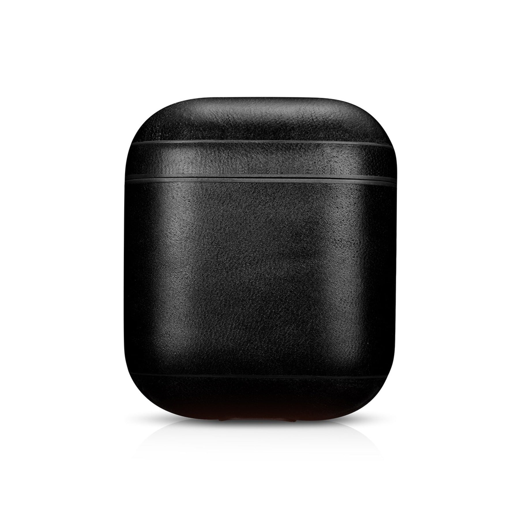Vintage Black Premium Leather AirPods 1 & 2 Case