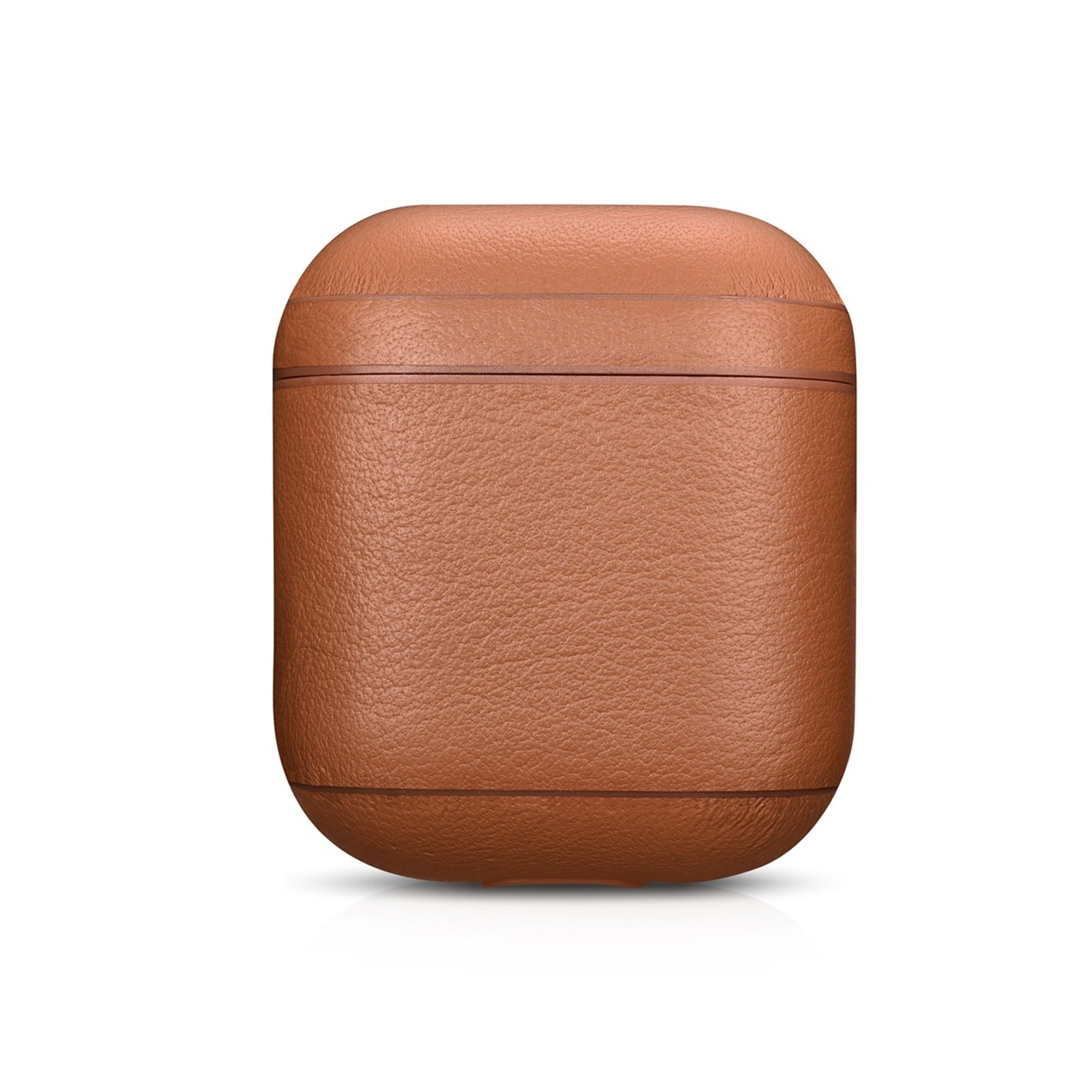 Napa Tan Premium Leather AirPods 1 & 2 Case