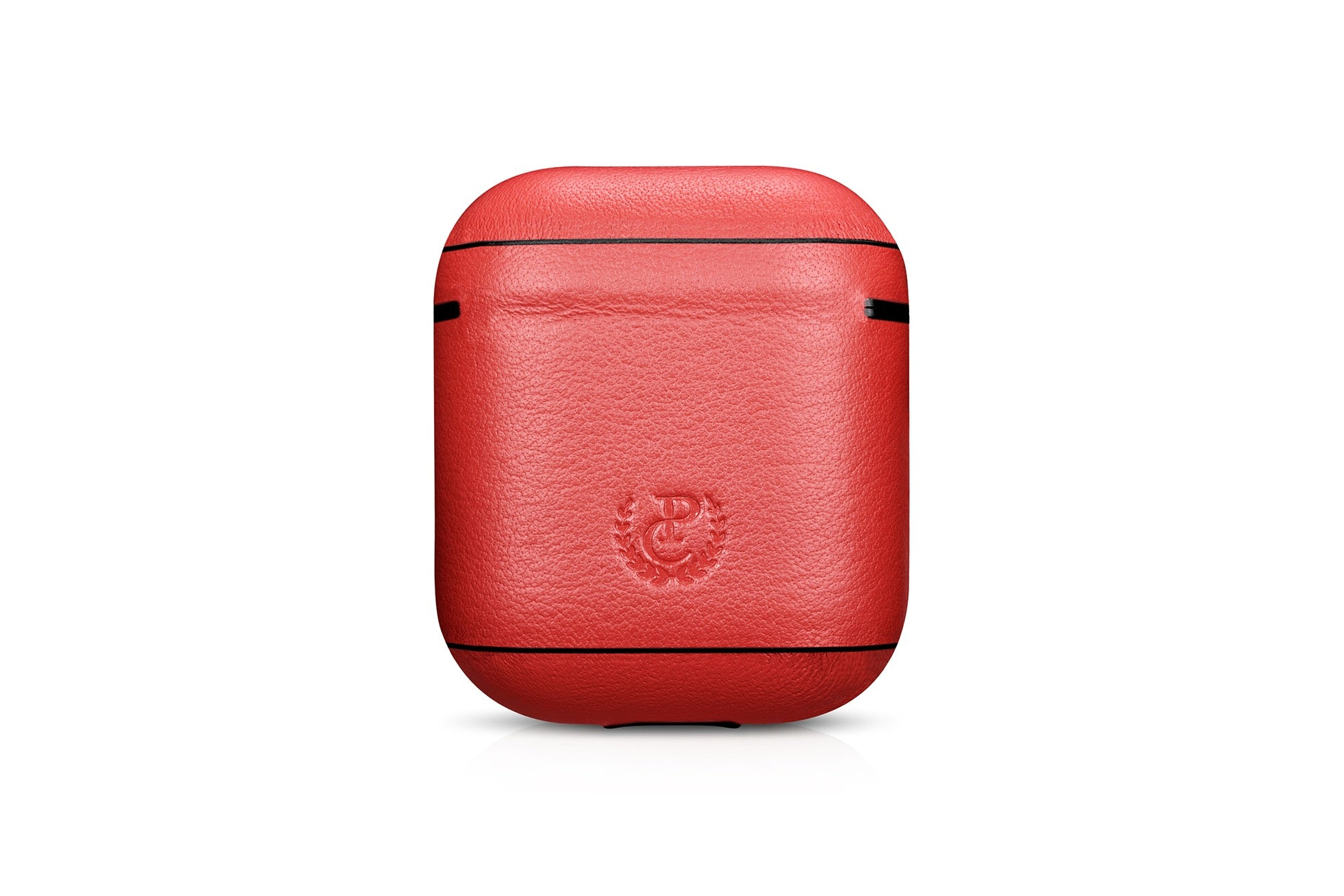 Napa Red Premium Leather AirPods 1 & 2 Case