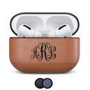 cairpods custom leather apple airpod airpods pro case personalized engraved name monogram logo engraving upload color cool cute design luxury designer nappa napa etsy amazon