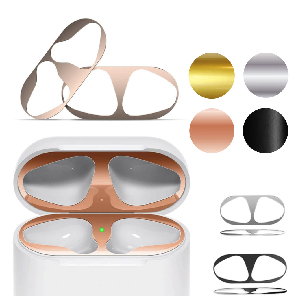 Metal Dust Guard Sticker for Apple AirPods Case Cover Ultra Thin Dust-proof Protective Sticker
