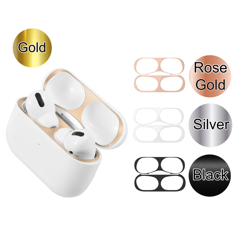 AirPods Pro Metal Dust Guard Sticker Ultra Thin Dust-proof Protective Sticker