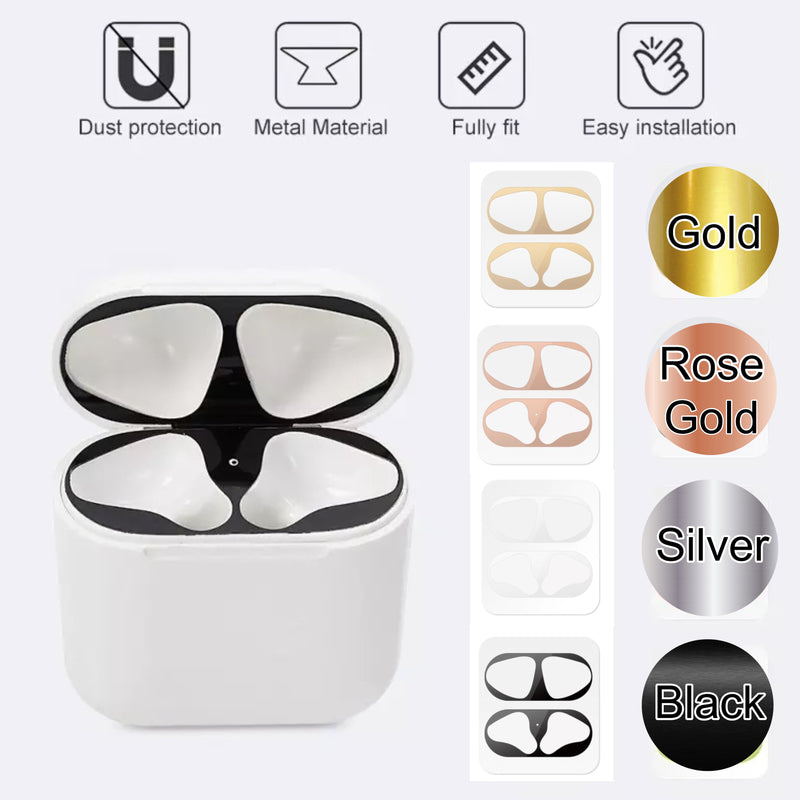AirPods 1 Metal Dust Guard Sticker