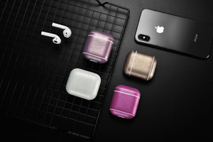 Classic Series Custom Leather Case for Apple AirPods 1 & 2 with Personalization
