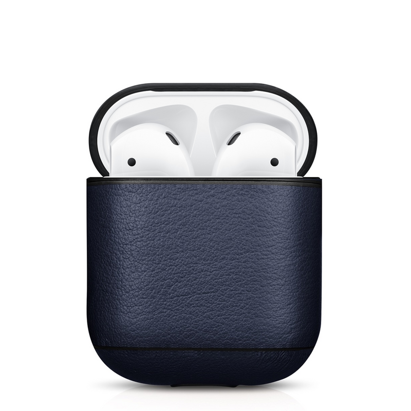 Custom Premium Nappa Leather Custom Apple AirPods 1 & 2 Case