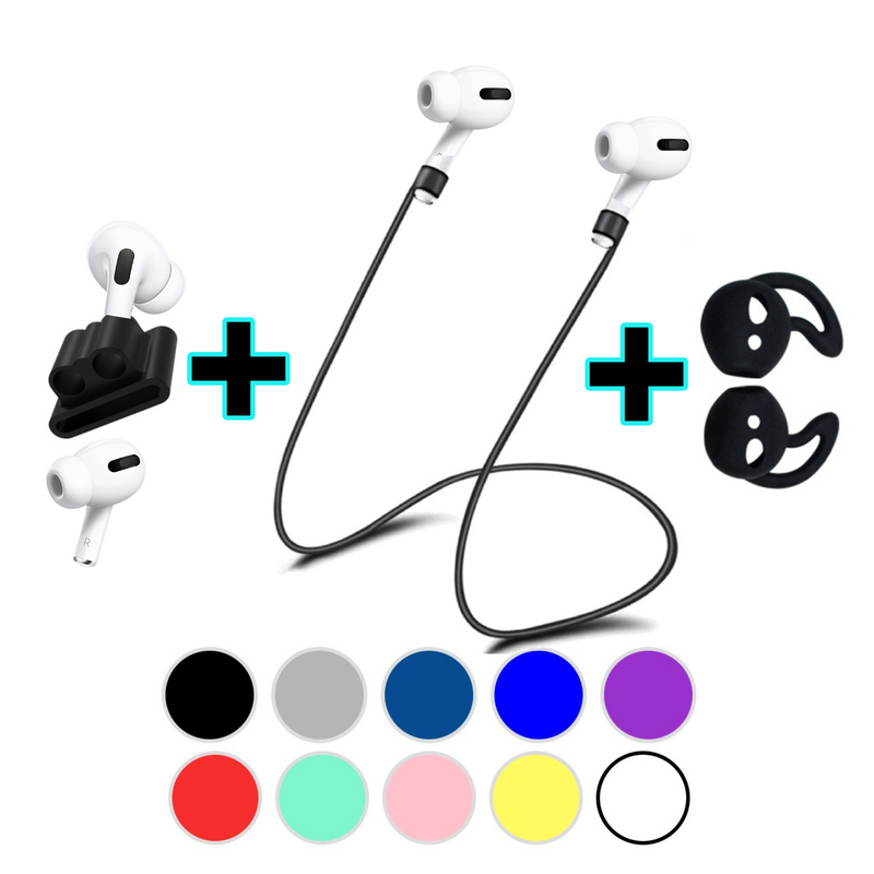 Apple AirPods Pro Accessories 3 in 1 Anti Lost Gear